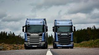 Nova linha de caminhões Scania Repórter Jaime Alves