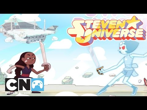 Вселенная Стивена | Танец с саблями (геймплей) | Cartoon Network