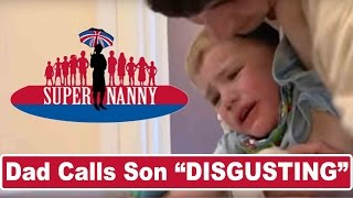 """DISGUSTING"" Boy Spits At Mom 