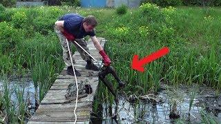 UNBELIEVABLE MAGNET FISHING! We couldn't BELIEVE EYES when we caught it! CrazySeeker!