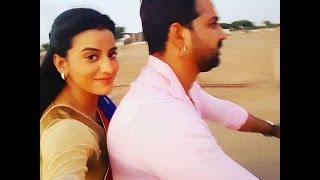 Pawan Singh With Akshra Singh || During Shot Film ( सत्या ) || Bhojpuri Super hit Film Satya 2016