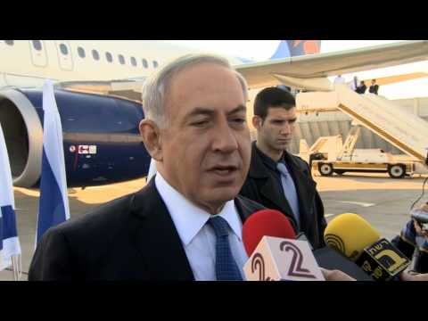 PM Netanyahu's Remarks Prior to Boarding his Plane to Rome