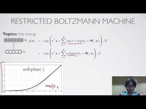 Neural Networks [5.3] : Restricted Boltzmann Machine - Free Energy