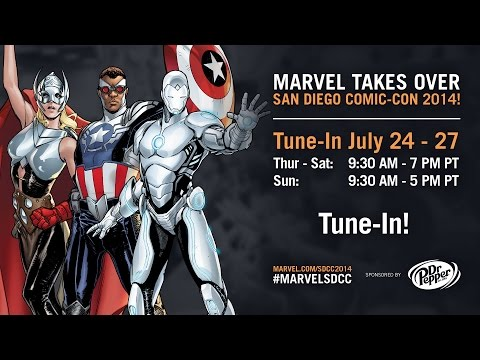 Marvel LIVE! at San Diego Comic-Con 2014