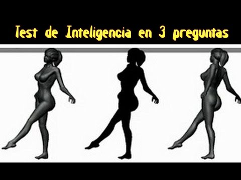 Test de inteligencia en tres preguntas