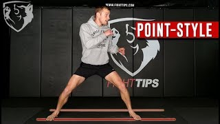Point-Style Footwork (Karate/TKD) for MMA