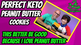 Peanut Butter Cookies from Perfect keto