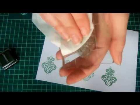Штамп для скрапбукинга своими руками