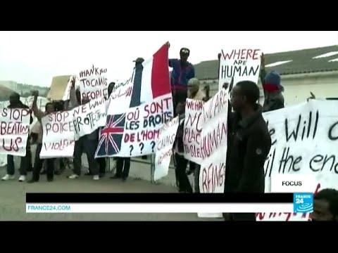France - France : l'immigration clandestine met Calais sous pression
