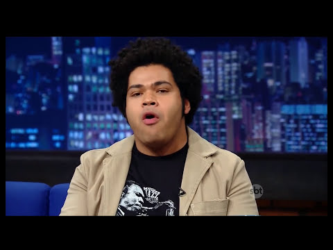 The Noite (05/11/14) - Entrevista com Robson Nunes, o Tim Maia no cinema
