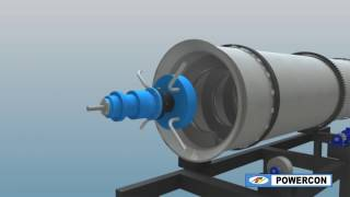 Rotating Ash Cooler - Assembly Sequence