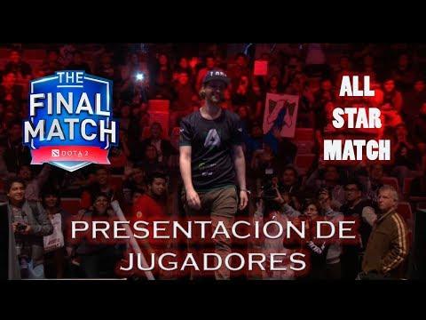 Presentacion Previa De Jugadores All Star Match Final Match