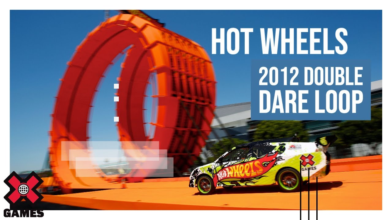 x games los angeles 2012 hot wheels double dare loop. Black Bedroom Furniture Sets. Home Design Ideas