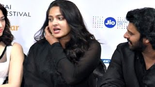 HOT Anushka Shetty Full Speech At Bahubali 2 Launch Event