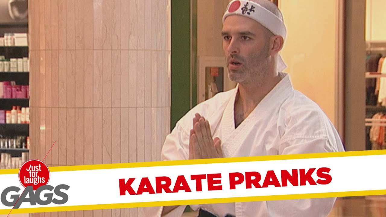 Best Karate Pranks - Best of Just For Laughs Gags