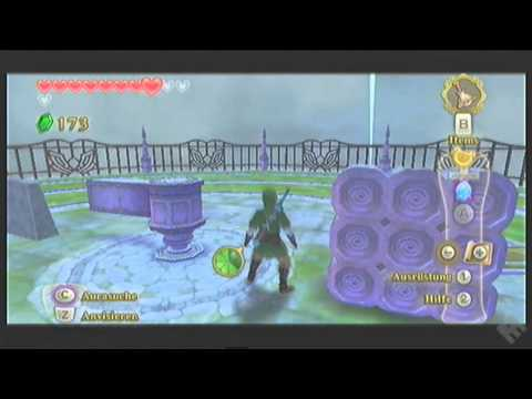 Legend of Zelda - Skyward Sword GAMEPLAY [1] - Rätselei