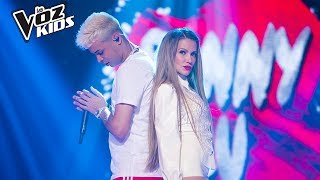 Fanny Lu y Noriel cantan Romper el Hielo - Batallas | La Voz Kids Colombia 2018
