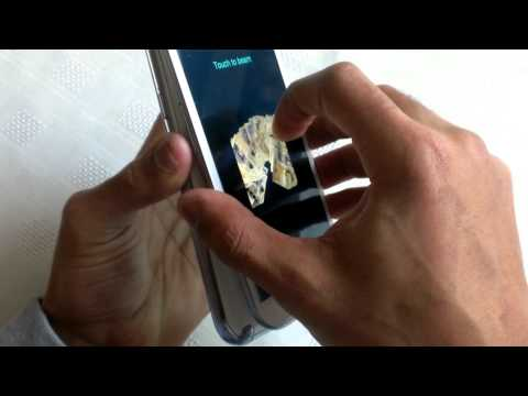 Samsung Galaxy Note 2 S BEAM NFC FILE TRANSFER DEMO