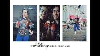 running a 10K at disney world! | runDisney Star Wars Races