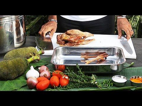 Recette : Carry ti Jacque poulet fumé - Ile de la Réunion