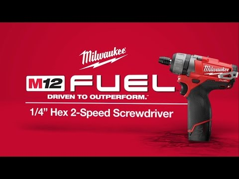 M12 FUEL 1/4&amp;quot; Hex 2-Speed Screwdriver 