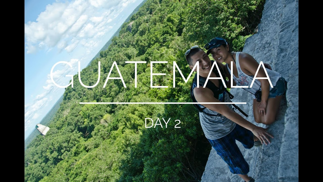Mayaruinene i Belize og Guatemala