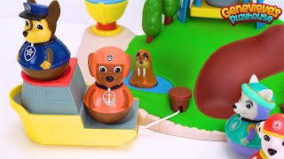 Best Preschool Learning Video for Toddlers Teach Colors for Kids Paw Patrol Weebles Toy Playset!