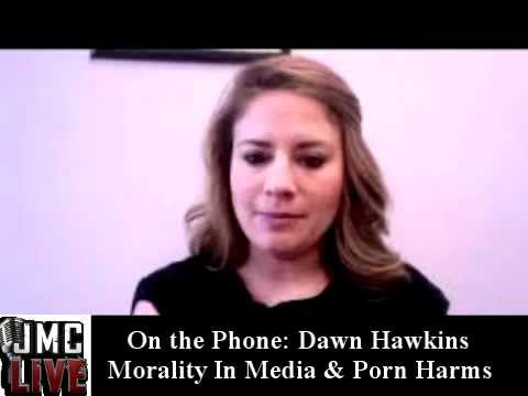 JMC LIVE Interview: Dawn Hawkins Of Porn Harms & Morality In Media