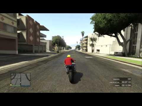 Gta 5 online Carrera curvas a todo gas
