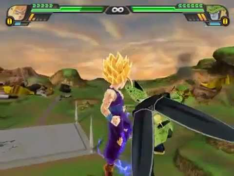 Dragon Ball Z Budokai Tenkaichi 3 - Gohan Vs Cell - Android Saga [hard Setting] [pcsx2] video