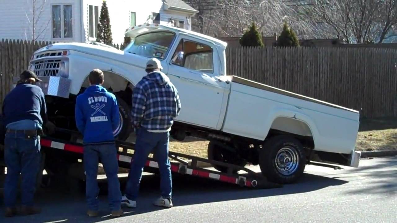 1965 Ford F 250 Youtube
