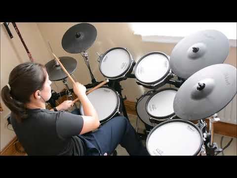Patrice Rushen - Feels So Real - Drum Cover - Roland TD-30