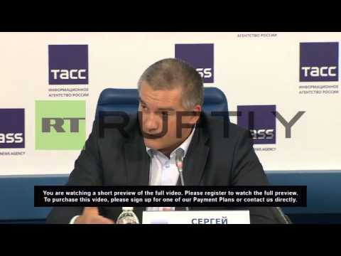Russia: 'Sanctions against Russia useless' says Crimean leader Askenov