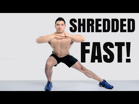 How to get Shredded FAST for Summer - [Home Workout]