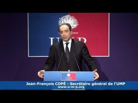 Réactions de Jean-François Copé à l'intervention de Nicolas Sarkozy