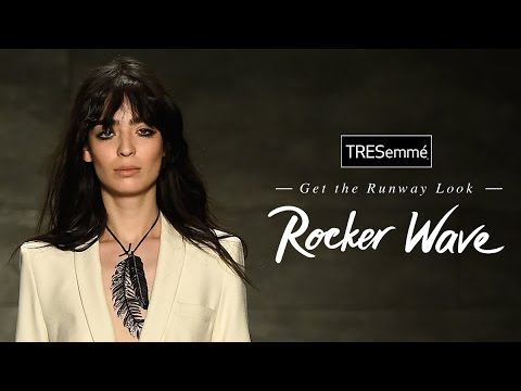 Rock N Roll Hair - Rebecca Minkoff | TRESemmé Style Setters