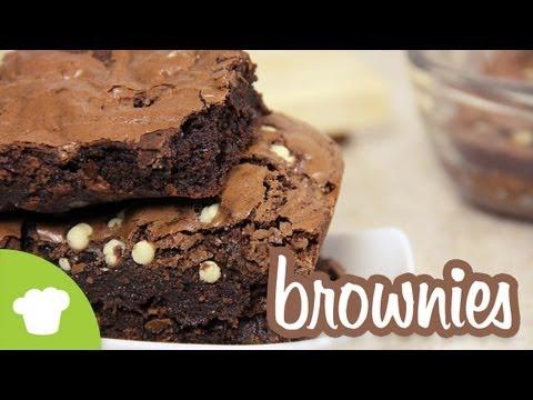 Cómo hacer Ricos Brownies Chocolatosos para 14 de Febrero | Craftingeek*