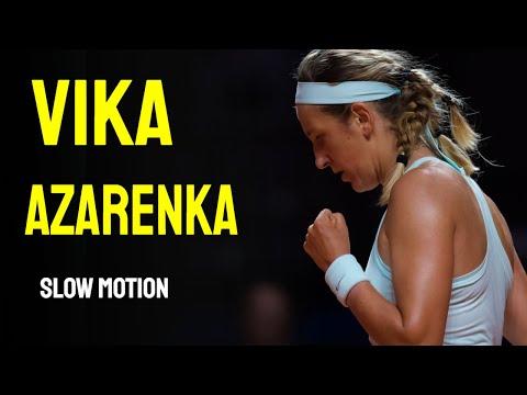 Vika Azarenka - Slow Motion Compilation
