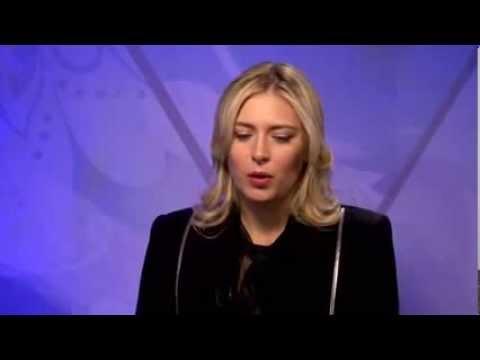 Maria Sharapova The Pride of Sochi 2014   NBC