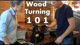How to Turn Wood on a Lathe - Intro to Woodturning