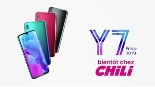 Le Huawei Y7 Prime 2019 bientôt chez CHiLi