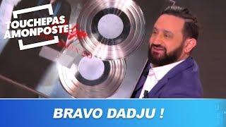 Cyril Hanouna offre un double disque de platine à Dadju