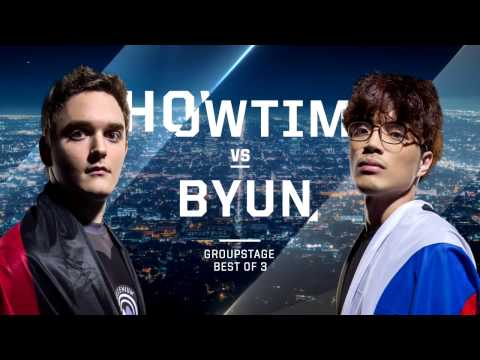 ShoWTime Vs. ByuN PvT - Group C Winners - WCS Global Finals 2016 - StarCraft II