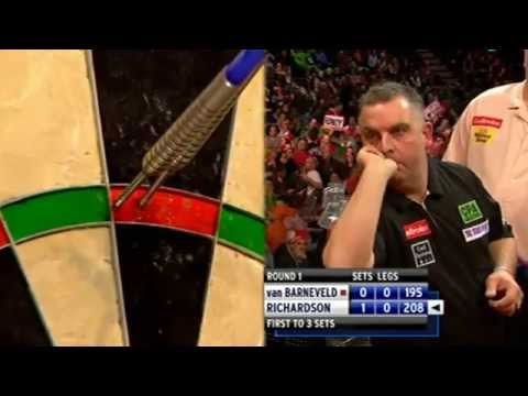 Van Barneveld vs Richardson Full Match HD PDC WDC 2012