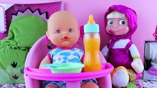 Đồ chơi cho trẻ em ❤ Baby doll Và Chơi Doh #3