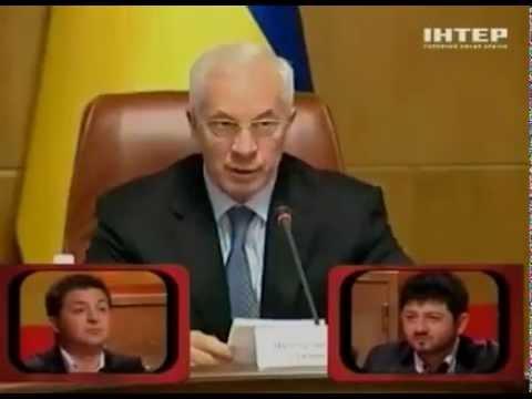"Вечерний Квартал. Политики в ""Рассмеши комика"" (05.05.2012)"