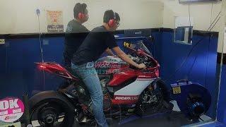 Ducati Panigale 1199R Bazzaz ZFI Dyno Tuning - Motodynamics Technology Malaysia