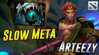 Arteezy Monkey King [SLOW META] Dota 2