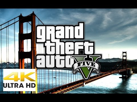 [4k Gaming Impression] [6 Min] Episode 1: GTA 5 [UltraHD] [2160p] [GTX 980 Ti] [Performance Check]