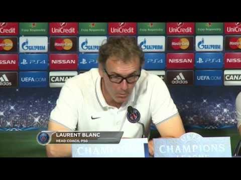 PSG ohne Zlatan Ibrahimovic – Laurent Blanc fürchtet Lionel Messi | Paris St. Germain - FC Barcelona